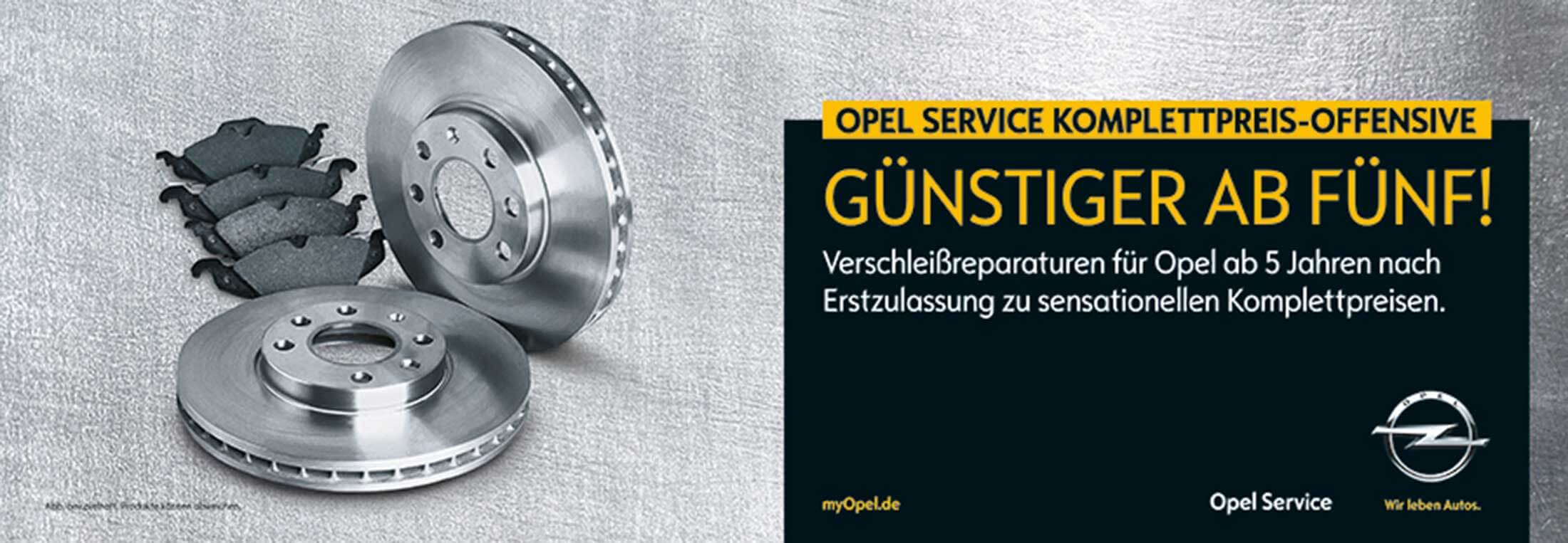Otto Cars | Opel Service Komplettpreis-Offensive